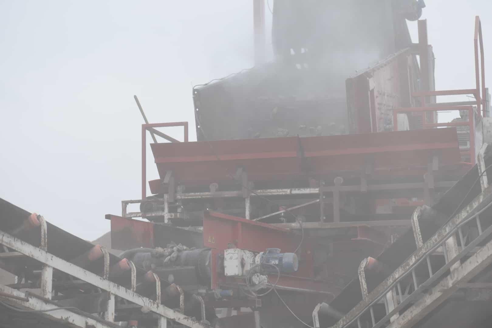 Nebula dust - foto zonder de stofbeheersing
