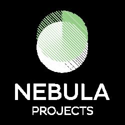 Nebula Projects klein logo negatief